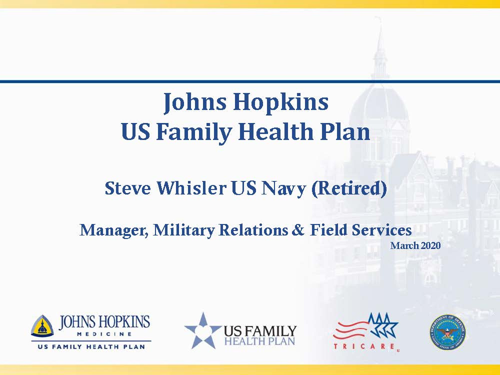 Johns Hopkins USFHP Information Briefing | Johns Hopkins ...